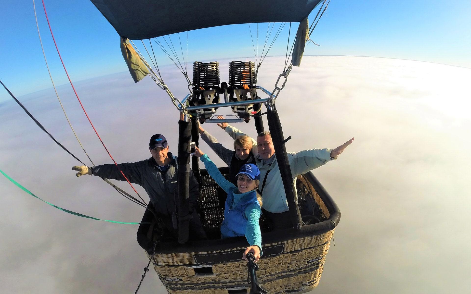 Полёты на воздушном шаре в Гродно · Аэротур-Баллунс
